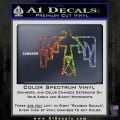 NATIVE AMERICAN THUNDERBIRD VINYL DECAL STICKER Sparkle Glitter Vinyl 120x120