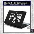 NATIVE AMERICAN THUNDERBIRD VINYL DECAL STICKER White Vinyl Laptop 120x120