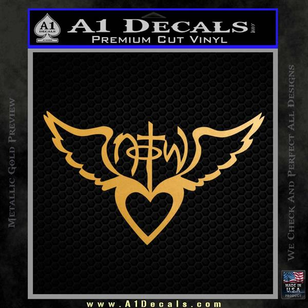 Notw Not Of This World Heart Decal Sticker 187 A1 Decals