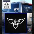NOTW Not of This World Heart Decal Sticker White Emblem 120x120