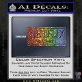Netflix and Chill Decal Sticker D1 Sparkle Glitter Vinyl 120x120