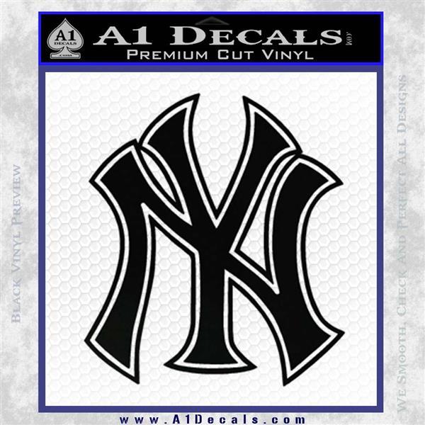 New York Yankees Logo Decal Sticker A1 Decals