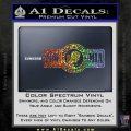 POW MIA DB Decal Sticker Sparkle Glitter Vinyl 120x120