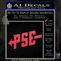 PSE Archery Decal Sticker D1 Pink Vinyl Emblem 120x120
