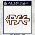 PSE Archery Decal Sticker D2 Brown Vinyl 120x120