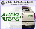 PSE Archery Decal Sticker D2 Green Vinyl 120x97