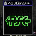 PSE Archery Decal Sticker D2 Lime Green Vinyl 120x120