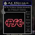 PSE Archery Decal Sticker D2 Pink Vinyl Emblem 120x120