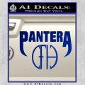 Pantera CFH Decal Sticker Blue Vinyl 120x120