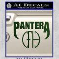 Pantera CFH Decal Sticker Dark Green Vinyl 120x120