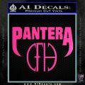 Pantera CFH Decal Sticker Hot Pink Vinyl 120x120