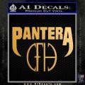 Pantera CFH Decal Sticker Metallic Gold Vinyl Vinyl 120x120