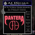 Pantera CFH Decal Sticker Pink Vinyl Emblem 120x120