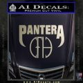 Pantera CFH Decal Sticker Silver Vinyl 120x120