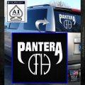 Pantera CFH Decal Sticker White Emblem 120x120