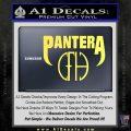 Pantera CFH Decal Sticker Yelllow Vinyl 120x120