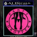 Panty Dropper Decal Sticker Emblem Hot Pink Vinyl 120x120