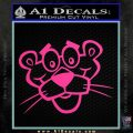 Pink Panther F2 Decal Sticker Hot Pink Vinyl 120x120