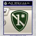 Police 1 Asterisk Ass To Risk Decal Sticker Dark Green Vinyl 120x120