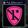 Police 1 Asterisk Ass To Risk Decal Sticker Hot Pink Vinyl 120x120