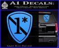 Police 1 Asterisk Ass To Risk Decal Sticker Light Blue Vinyl 120x97