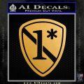 Police 1 Asterisk Ass To Risk Decal Sticker Metallic Gold Vinyl Vinyl 120x120