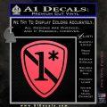 Police 1 Asterisk Ass To Risk Decal Sticker Pink Vinyl Emblem 120x120