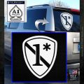 Police 1 Asterisk Ass To Risk Decal Sticker White Emblem 120x120