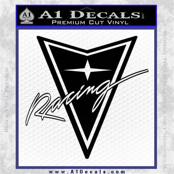 Pontiac Racing Decal Sticker Drt 187 A1 Decals