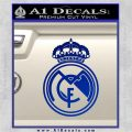 Real Madrid D1 Decal Sticker Blue Vinyl 120x120