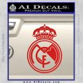 Real Madrid D1 Decal Sticker Red Vinyl 120x120