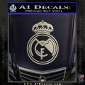Real Madrid D1 Decal Sticker Silver Vinyl 120x120