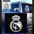Real Madrid D1 Decal Sticker White Emblem 120x120