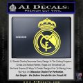 Real Madrid D1 Decal Sticker Yelllow Vinyl 120x120
