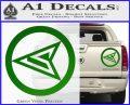 Red Arrow Speedy Roy Harper emblem DLB Decal Sticker Green Vinyl 120x97