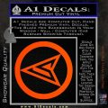 Red Arrow Speedy Roy Harper emblem DLB Decal Sticker Orange Vinyl Emblem 120x120