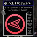 Red Arrow Speedy Roy Harper emblem DLB Decal Sticker Pink Vinyl Emblem 120x120