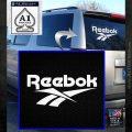 Reebok Logo D2 Decal Sticker White Emblem 120x120