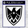 Revengers Real Shield Ultra on Decal Sticker Black Logo Emblem 120x120