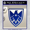 Revengers Real Shield Ultra on Decal Sticker Blue Vinyl 120x120