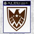 Revengers Real Shield Ultra on Decal Sticker Brown Vinyl 120x120