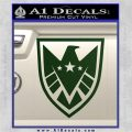 Revengers Real Shield Ultra on Decal Sticker Dark Green Vinyl 120x120