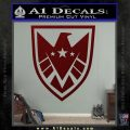 Revengers Real Shield Ultra on Decal Sticker Dark Red Vinyl 120x120