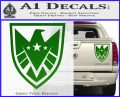 Revengers Real Shield Ultra on Decal Sticker Green Vinyl 120x97