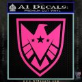 Revengers Real Shield Ultra on Decal Sticker Hot Pink Vinyl 120x120