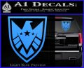 Revengers Real Shield Ultra on Decal Sticker Light Blue Vinyl 120x97
