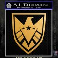 Revengers Real Shield Ultra on Decal Sticker Metallic Gold Vinyl Vinyl 120x120