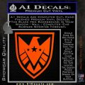 Revengers Real Shield Ultra on Decal Sticker Orange Vinyl Emblem 120x120