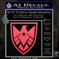 Revengers Real Shield Ultra on Decal Sticker Pink Vinyl Emblem 120x120