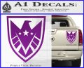 Revengers Real Shield Ultra on Decal Sticker Purple Vinyl 120x97